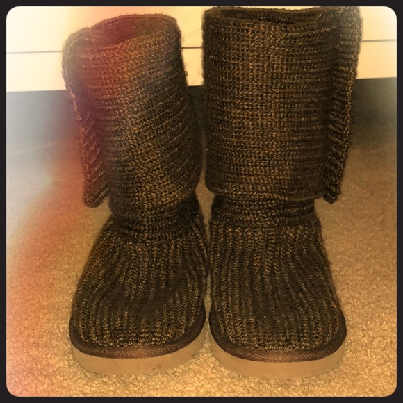 Ugg Shoes Knit Boots Poshmark